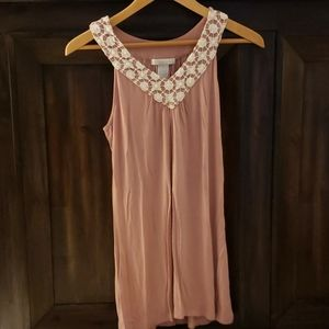 Muted pink tank